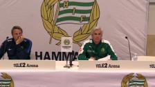 Presskonferensen efter Hammarby - Falkenberg