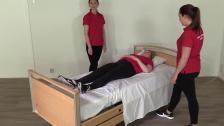 12. Applicering av lyftsele i säng