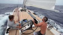 Atlantic crossing on Wally 100