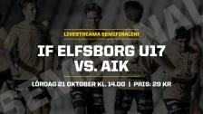U17: IF Elfsborg – AIK (SM–SEMIFINAL)