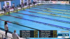 14 200m Medley Herrar A-Final SM/JSM 25m 2015