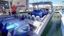 Maffiga båtar på Miami Boat Show
