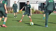Aron ser fram emot tuff match mot Slavia Prag