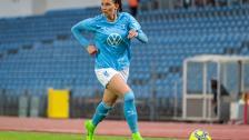 INTERVJU: Malin Gunnarsson efter 5–0 mot IFK Trelleborg