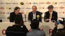 Presskonferens - Haglund presenteras