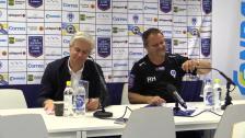 Presskonferensen efter Åtvidaberg - Hammarby