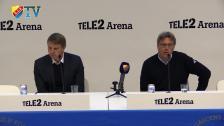 Presskonferensen efter DIF-Falkenberg