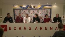 Presskonferens: gemensam satsning av IF Elfsborg och Borås Stad