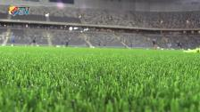 Djurgården invigde nya kostgräsmattan på Tele2 Arena