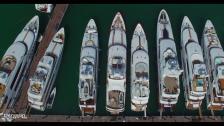 Miami Boat Show med drönare