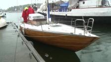 Den mest hårdhudade seglaren och hans båt