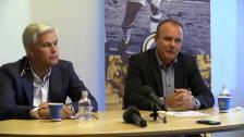 Presskonferensen efter GIF Sundsvall - Hammarby