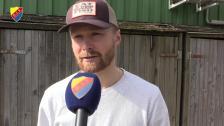 Une Larsson inför onsdagens möte mot Malmö FF