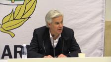 Presskonferensen efter Hammarby - Helsingborg
