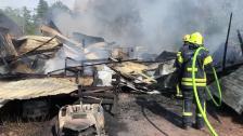 Brand i Lemland