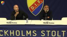 Presskonferensen efter DIF-Kalmar