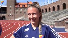 Fanny Lång och Gudrun Arnardottir inför hemmapremiären