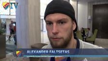 Alexander Faltsetas om nyförvärven