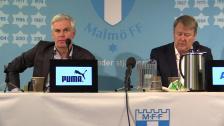 Presskonferensen efter MFF - Hammarby
