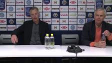 Presskonferensen efter Varbergs BoIS - Hammarby
