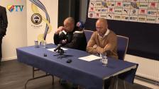 Presskonferensen på Olympia