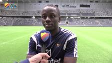 Mushekwi gjorde sitt första mål mot just BK Häcken