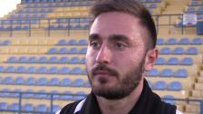 Tvåmålsskytten Mujo om segern mot Stade Nyonnais