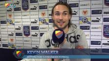 Karlström och Walker glada segrare