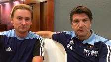 Hugo Berggren går in som assisterande tränare i A-laget