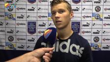 Karlström fick göre ett tidigt inhopp mot Örebro