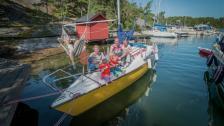 Upptäck båtlivet – barnfamilj på äventyr