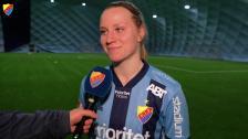 Camilla Huseby klar för DIF