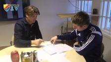 Michael Jahn har fått ett U21-kontrakt