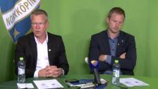 Presskonferensen efter IFK Norrköping-DIF