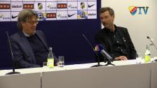 Presskonferensen efter Häcken - DIF