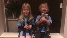 Två syskon sjunger Hey Jude 😍