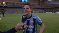 Aslak Witry målskytt i sin tävlingspremiär för Djurgården