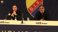 Presskonferensen efter DIF-Östersund