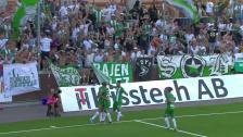 Se målen från 6-1-segern borta mot AFC Eskilstuna