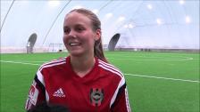 Sofia Albertsson tror på seger mot Sätra SK