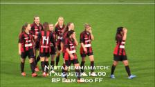 Målen i matchen mellan BP Dam och Västerås BK30
