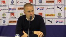 Presskonferensen efter hemmasegern mot Örebro SK