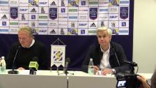 Presskonferensen efter IFK Göteborg - Hammarby