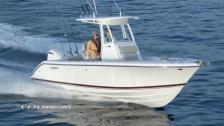 Pursuit C238 – optimerad för sportfiske och transport