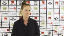 Elise Kellond-Knight om första damallsvenska matchen
