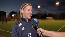 Olivia Schough inför streckdramat mot Umeå