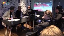 Presskonferensen efter Örebro - Djurgården