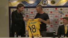 Presskonferens Samuel Holmén är tillbaka