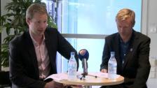 Presskonferensen efter Häcken-DIF 2011