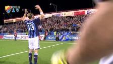 Segerfirandet från Södertälje Fotbollsarena